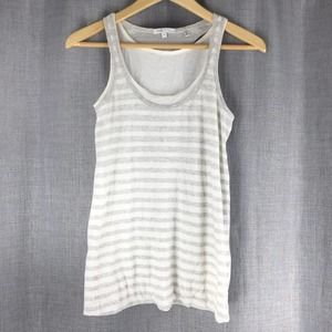 Vince Striped Layered Tank Top Size M
